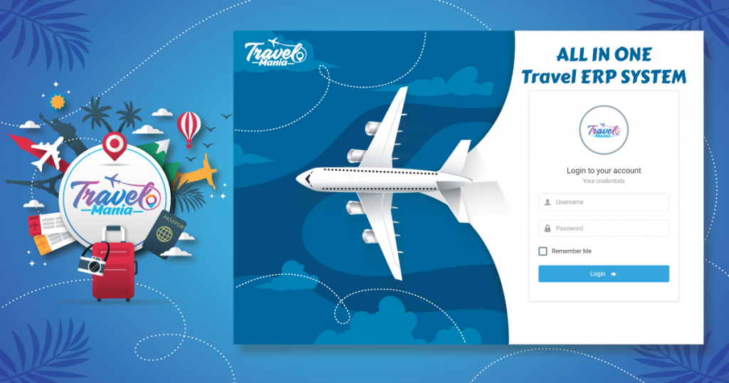 TravelMania | ALL IN ONE TRAVEL AGENCY MANAGEMENT SYSTEM